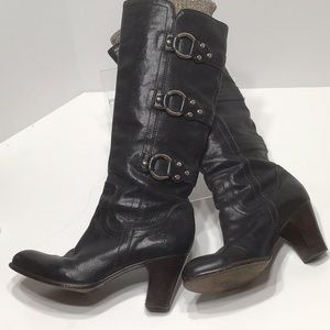 FRYE Fiona 3 Strap boot beautiful